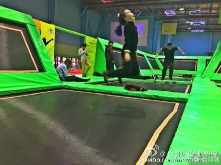 > 正文    位于殷高路65号上海文教产业园里的多乐岛蹦床公园是目前全图片