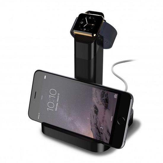手表手机都能用 WatchStand苹果手表支架发布