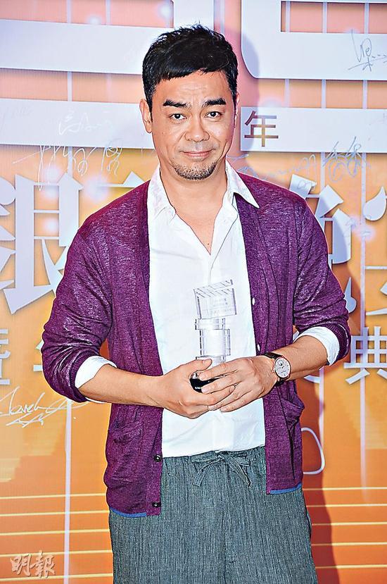 刘青云获导演会颁《最佳男主角》再尝影帝滋味。