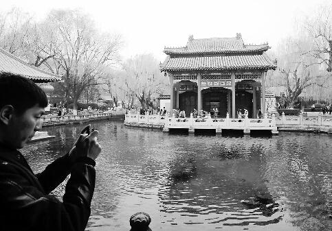 济南趵突泉实时水位跌破红线