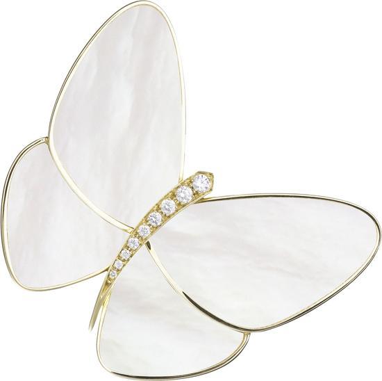 梵克雅宝 Butterfly 胸针