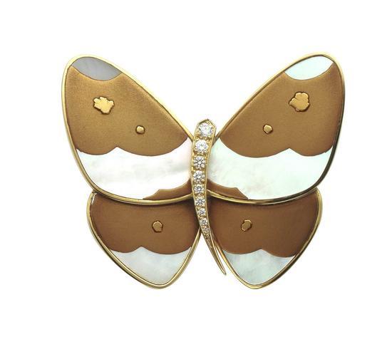 梵克雅宝Lacquered Butterflies漆绘蝴蝶