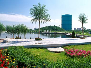 沈阳仙女湖公园。