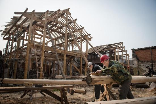 李鸿章百年当铺正在修复中 政府调拨300万修缮资金