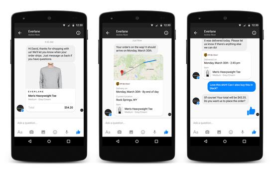 Messenger试图将电商关系也纳入社交网络