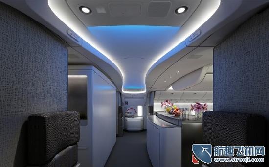 波音777的高端入口拱门/TEAGUE公司