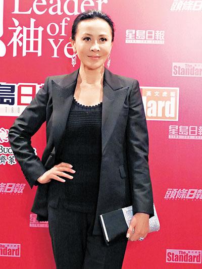 刘嘉玲自认为不是称职的领袖。