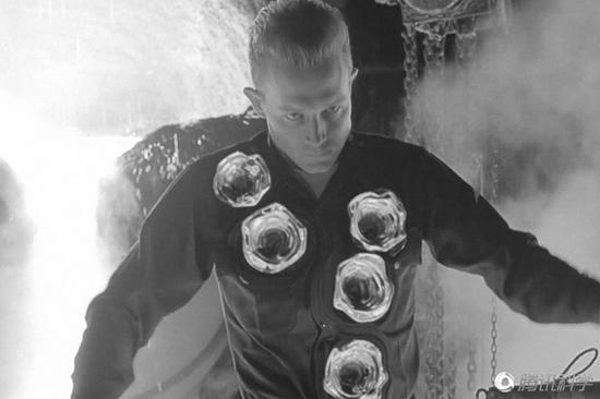 电影《终结者》中的液态金属机器人