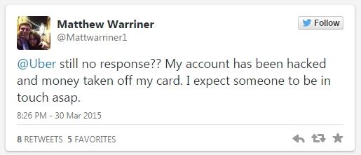 用户在Twitter上称账号被盗