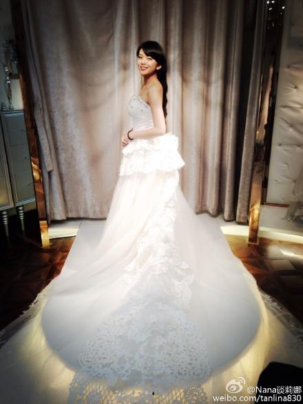 谈莉娜婚纱照