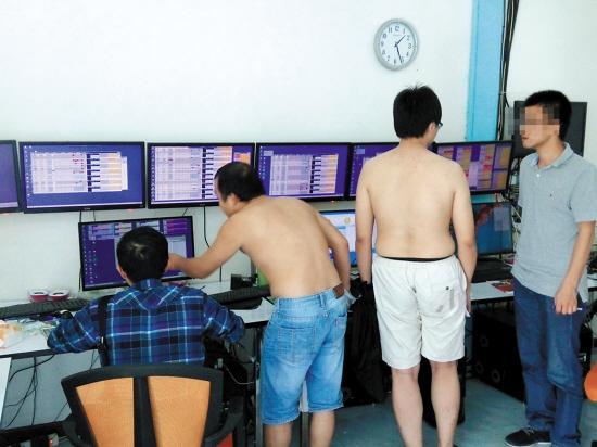 非法赌博网络的泰国日常维护点