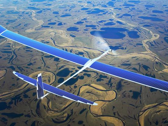 Titan 航空旗下的太陽能飛機