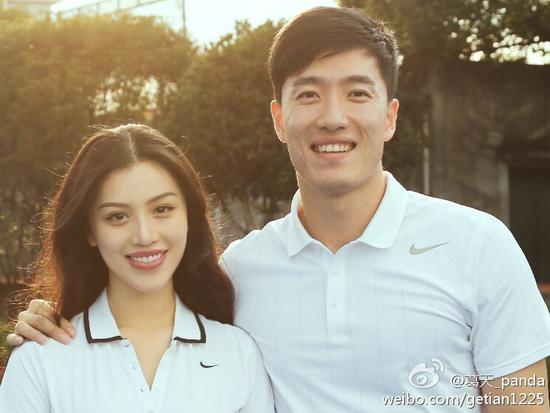 刘翔已有幸福的家庭