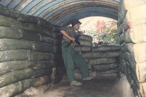 浴血奋战的青春,对越自卫反击战彩照
