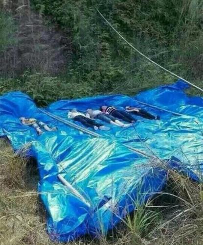 七人尸体已被打捞起来。
