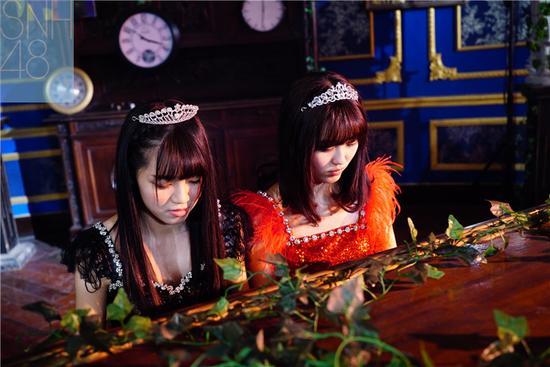 SNH48《狼与自尊》花絮照