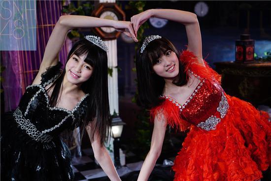 SNH48花絮照