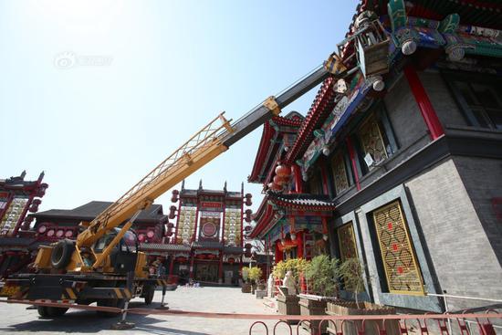 图为北京前门刘老根会馆