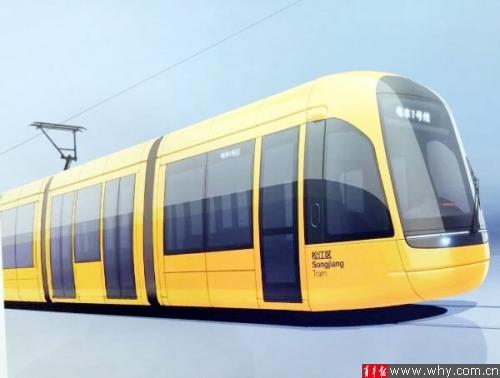 首条纯国产有轨电车样子略萌。