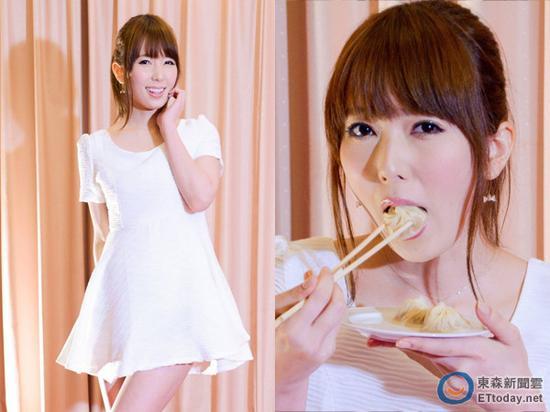 波多野结衣鲁_波多野结衣来台宣传爱美食 吃小笼包爆浆