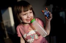 美国自闭症小女孩的生活
