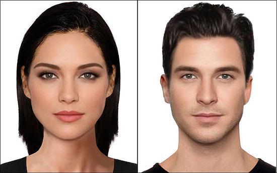 近期研究发现,拥有棕色头发的男性和女性最有魅力。
