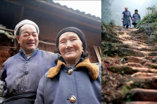 """52歲夫娶21歲妻 盤點深山築愛巢的""""神仙眷侶"""""""