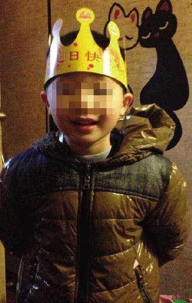 1月3日,刚过了6岁生日的大宝 家属供图