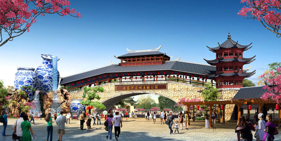 南昌万达城全球首个万达茂及主题乐园示范区开放