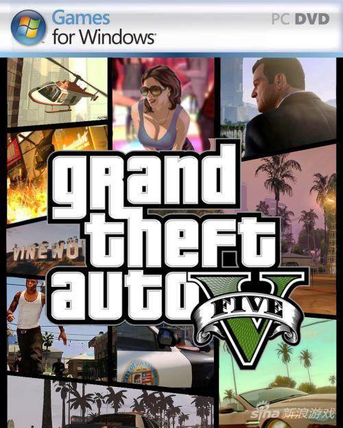GTA5 PC版封面