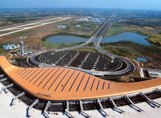 新桥国际机场俯视图