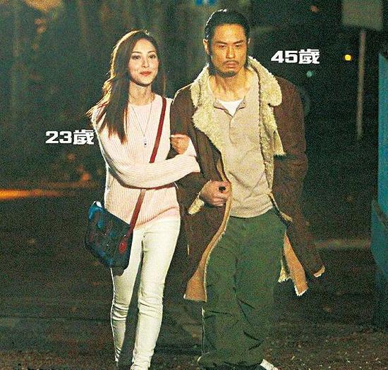 45岁郑嘉颖和23岁陈凯琳被曝正在交往