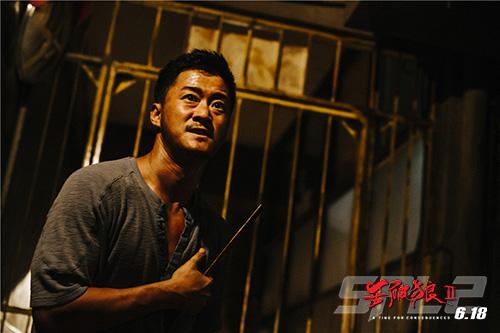 《杀破狼2》吴京身陷冤狱