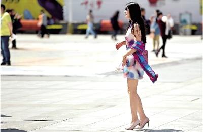 河南无沙尘暴未来两天大部有雨郑州视频下降极度v视频美女温度图片