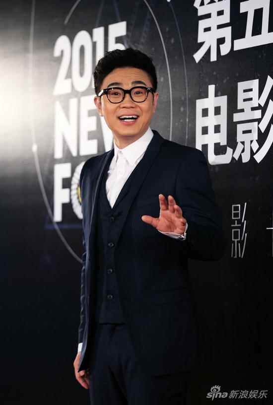 《煎饼侠》导演大鹏列席北影节新核心论坛