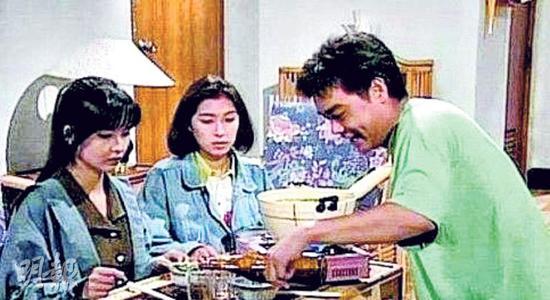 《大时代》里方展博选择了悭妹,现实中刘青云娶了郭蔼明