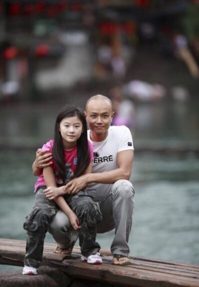 乐嘉和女儿