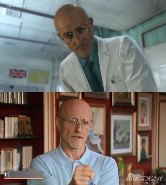 长相与《合金装备5》角色酷似的医生