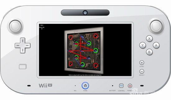 利用WiiU的GamePad进行解谜