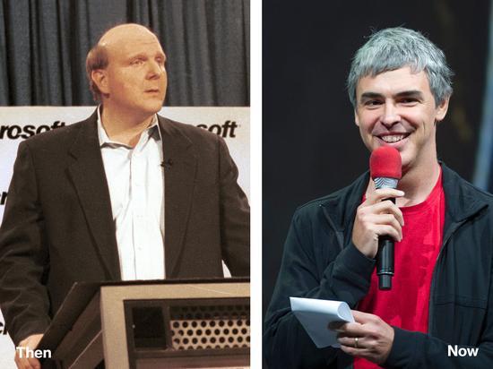 微软前CEO鲍尔默、谷歌创始人佩奇