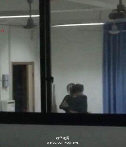 中学老师与女学生在办公室发生不雅行为(图)
