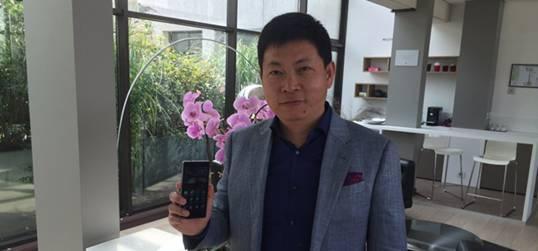 余承东:成全球领先品牌与三星苹果抗衡
