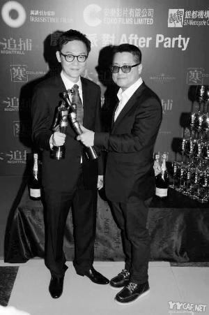 陆、梁两年前凭仗榜首部导演著作《哆嗦》就取得香港金像奖最好导演奖。