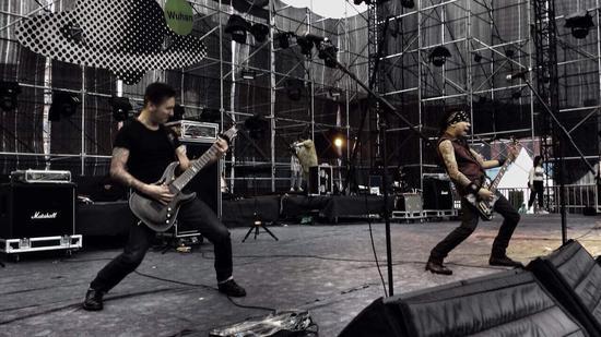 夜叉乐队成员素材 夜叉乐队 gtp 同一方向乐队成员图片