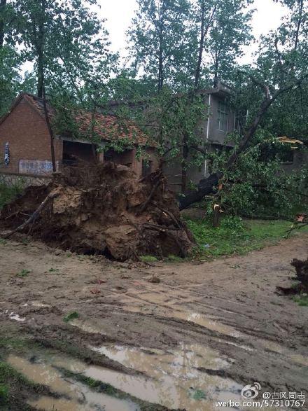 安徽宿州、亳州两地发生风雹灾害