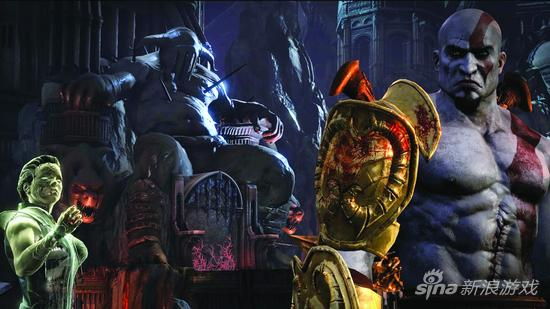《战神3》PS4重置版1080P截图