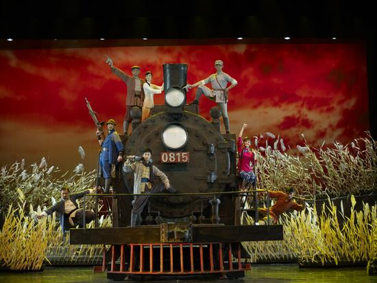 总政歌舞团舞剧《铁道游击队》