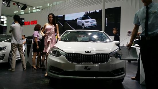 银川车展起亚车型推荐:性价比之王k3图片