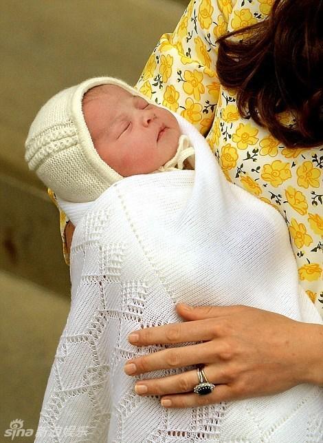 小公主的正脸首次曝光