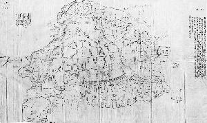 1911年手工绘制的《长春府城区图》,现藏于长春市档案馆。
